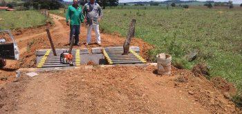 Construção de mata burro