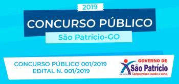 CONCURSO PÚBLICO 001/2019 EDITAL N. 001/2019 – ABERTURA E REGULAMENTO GERAL